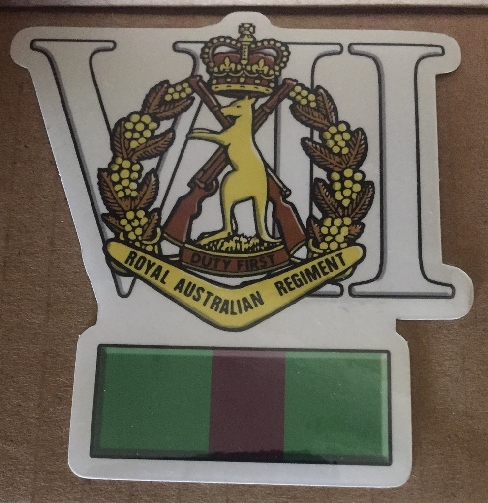 7 RAR sticker
