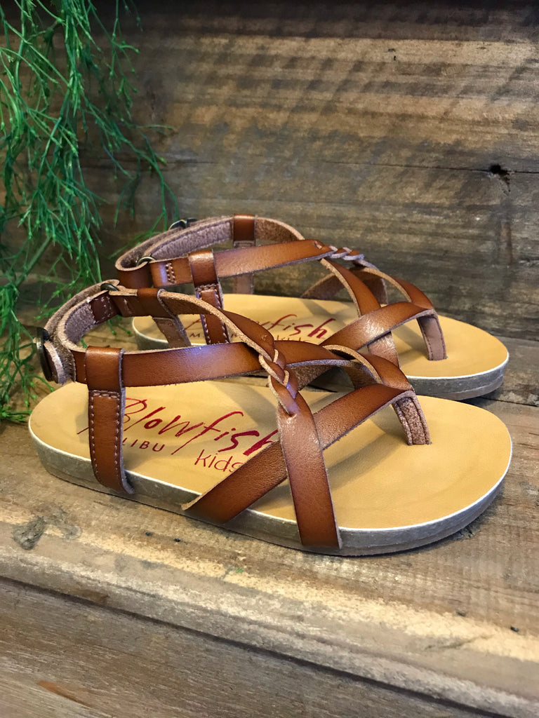 Granola Blowfish Sandals-Girls