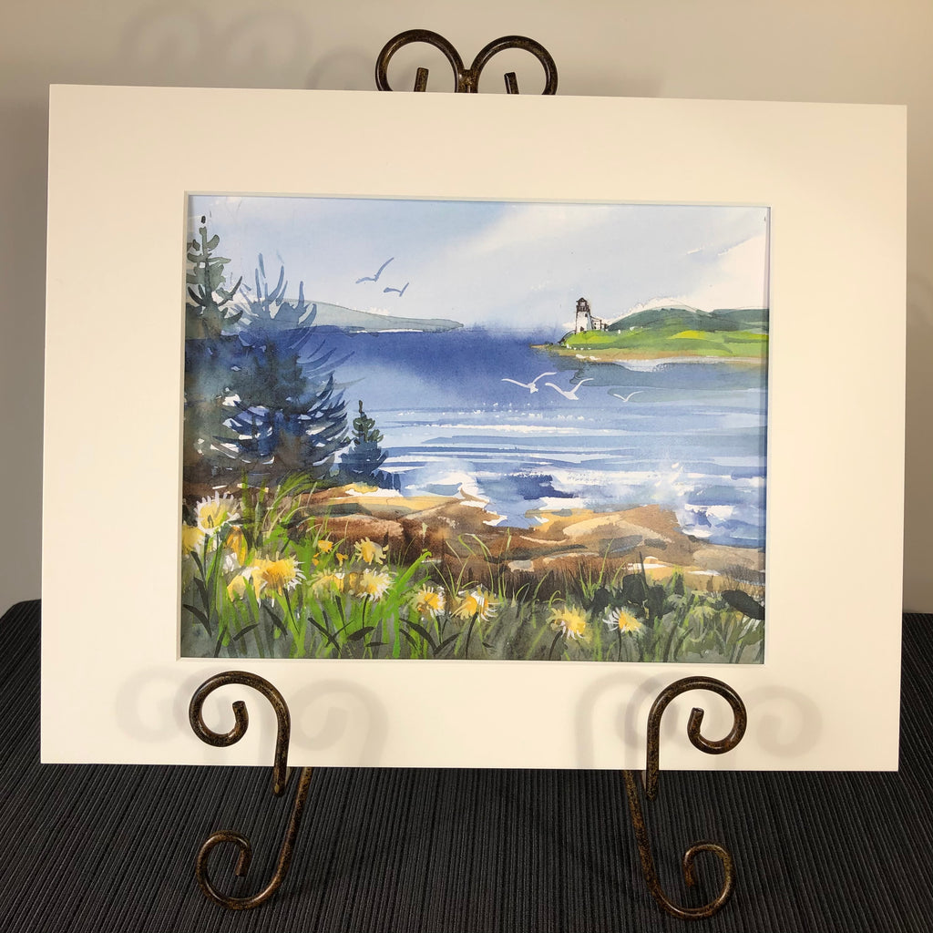 Art Print: Maine Landscape by Laura