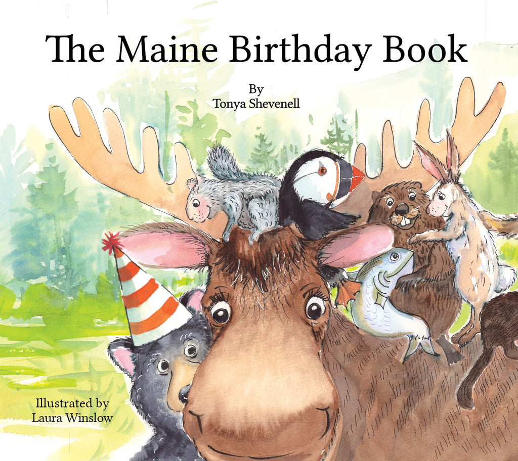 Whoops Books - The Maine Birthday Book with signing boo-boo's