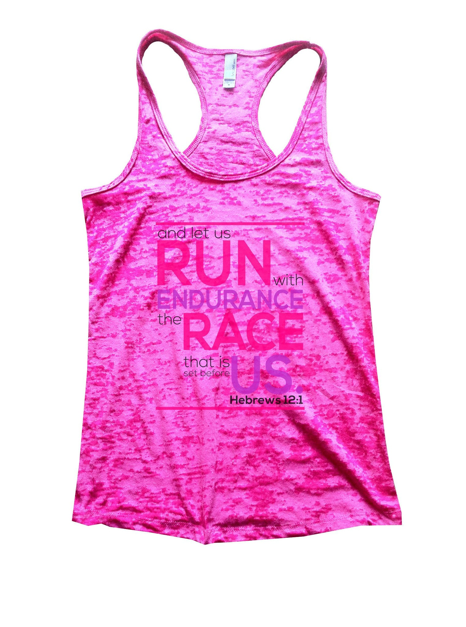 Run Endurance Race Us Burnout Tank Top By BurnoutTankTops.com - 1036 - Funny Shirts Tank Tops Burnouts and Triblends  - 5
