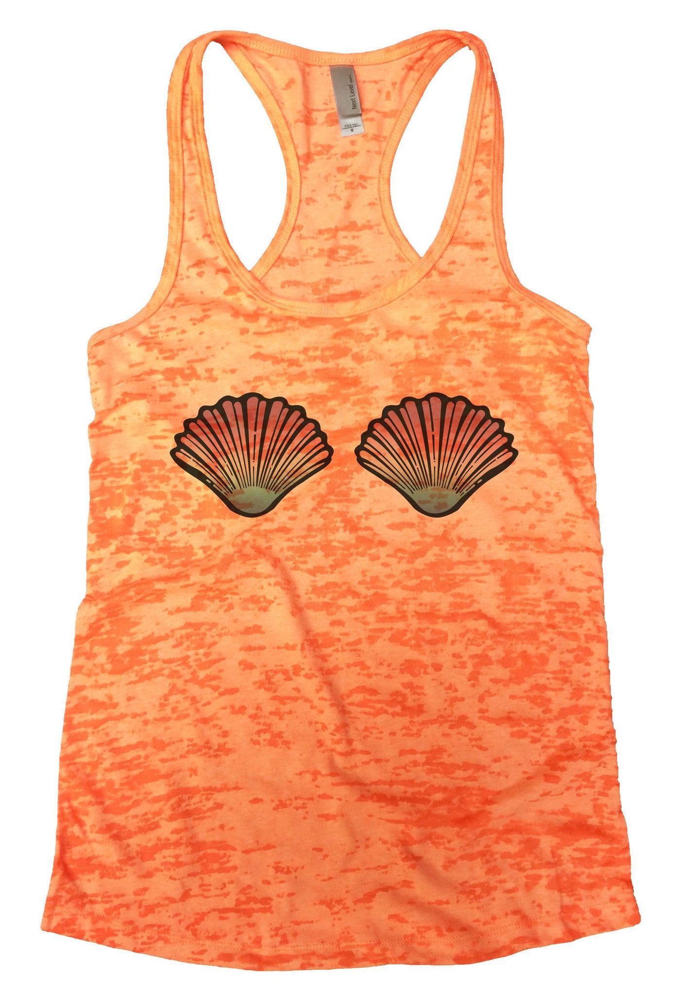 Shell Burnout Tank Top By BurnoutTankTops.com - 1080 - Funny Shirts Tank Tops Burnouts and Triblends  - 2