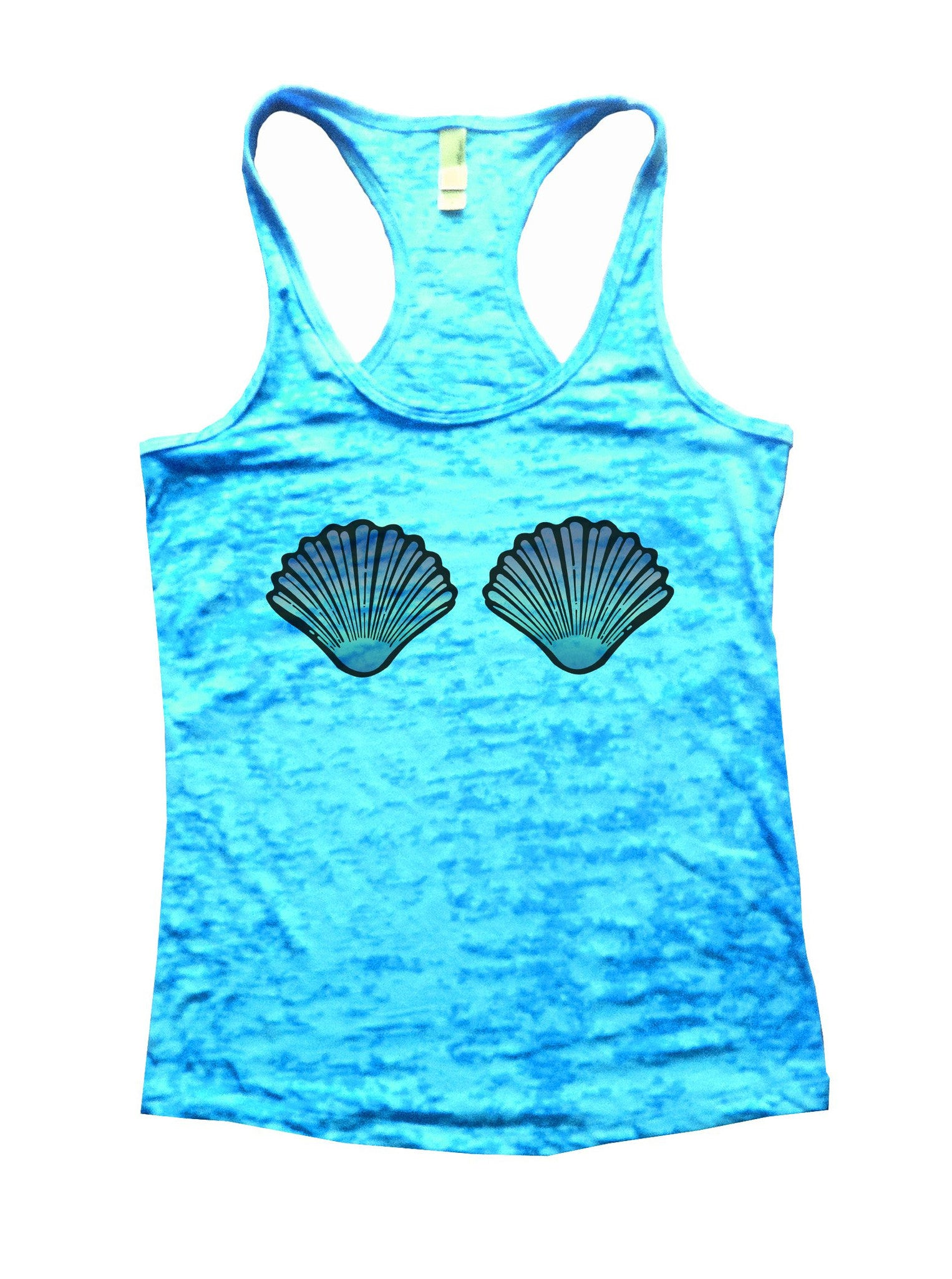 Shell Burnout Tank Top By BurnoutTankTops.com - 1080 - Funny Shirts Tank Tops Burnouts and Triblends  - 3