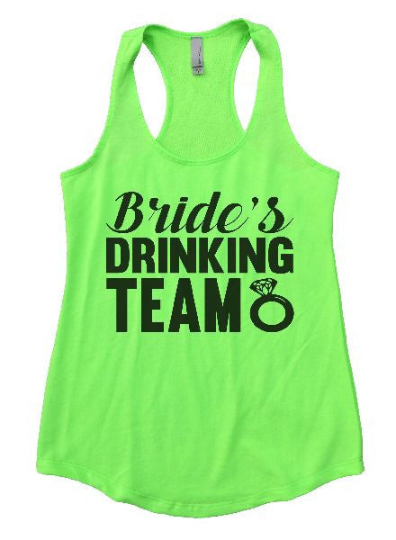 Bride's Drinking Team Womens Workout Tank Top 1101 - Funny Shirts Tank Tops Burnouts and Triblends  - 3