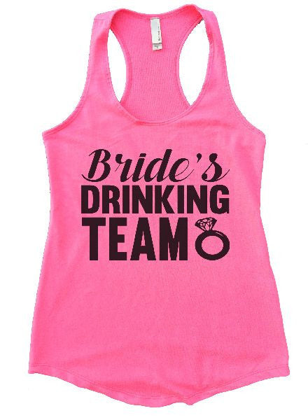 Bride's Drinking Team Womens Workout Tank Top 1101 - Funny Shirts Tank Tops Burnouts and Triblends  - 4