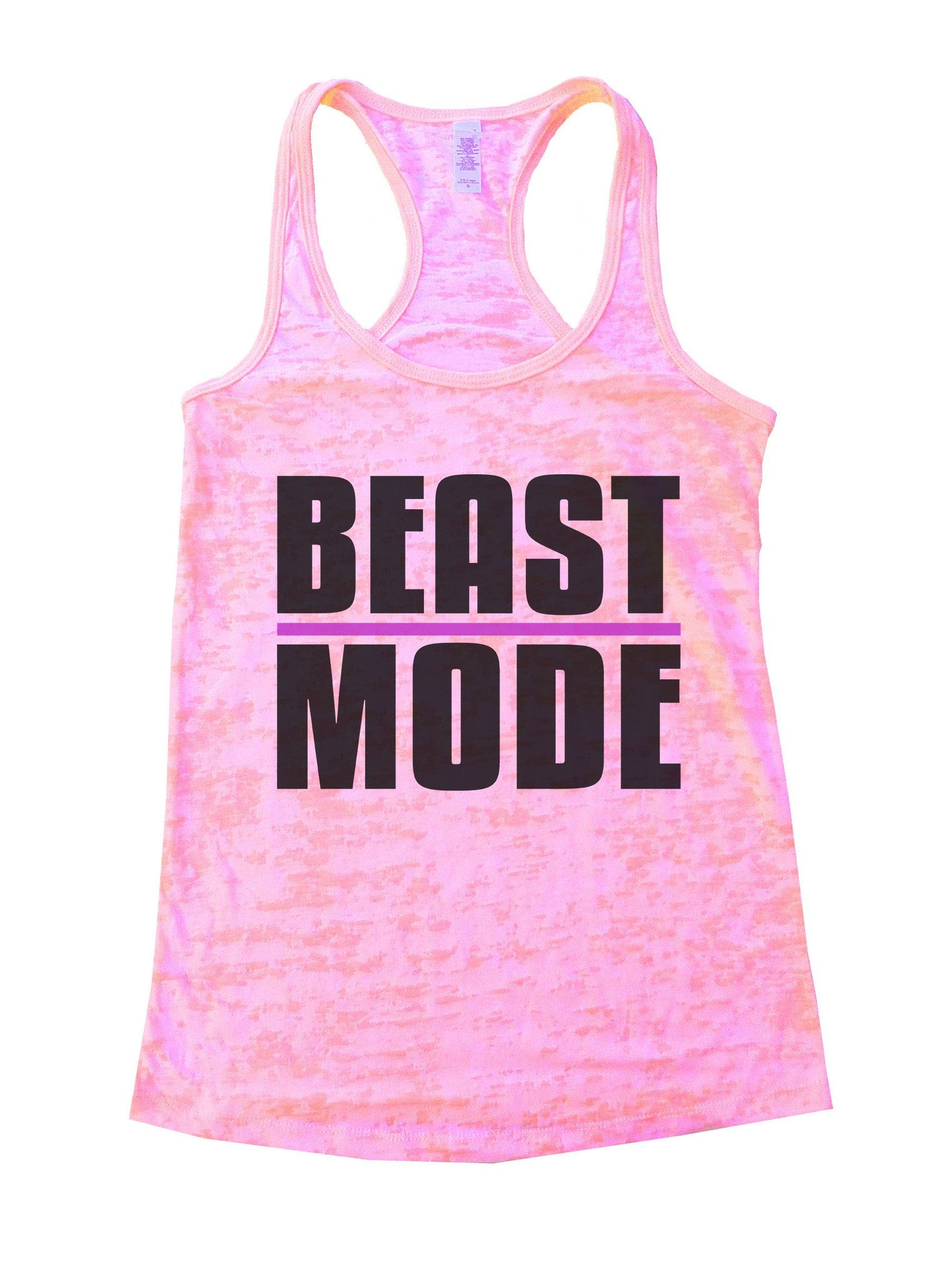 Beast Mode Burnout Tank Top By BurnoutTankTops.com - 1107 - Funny Shirts Tank Tops Burnouts and Triblends  - 3