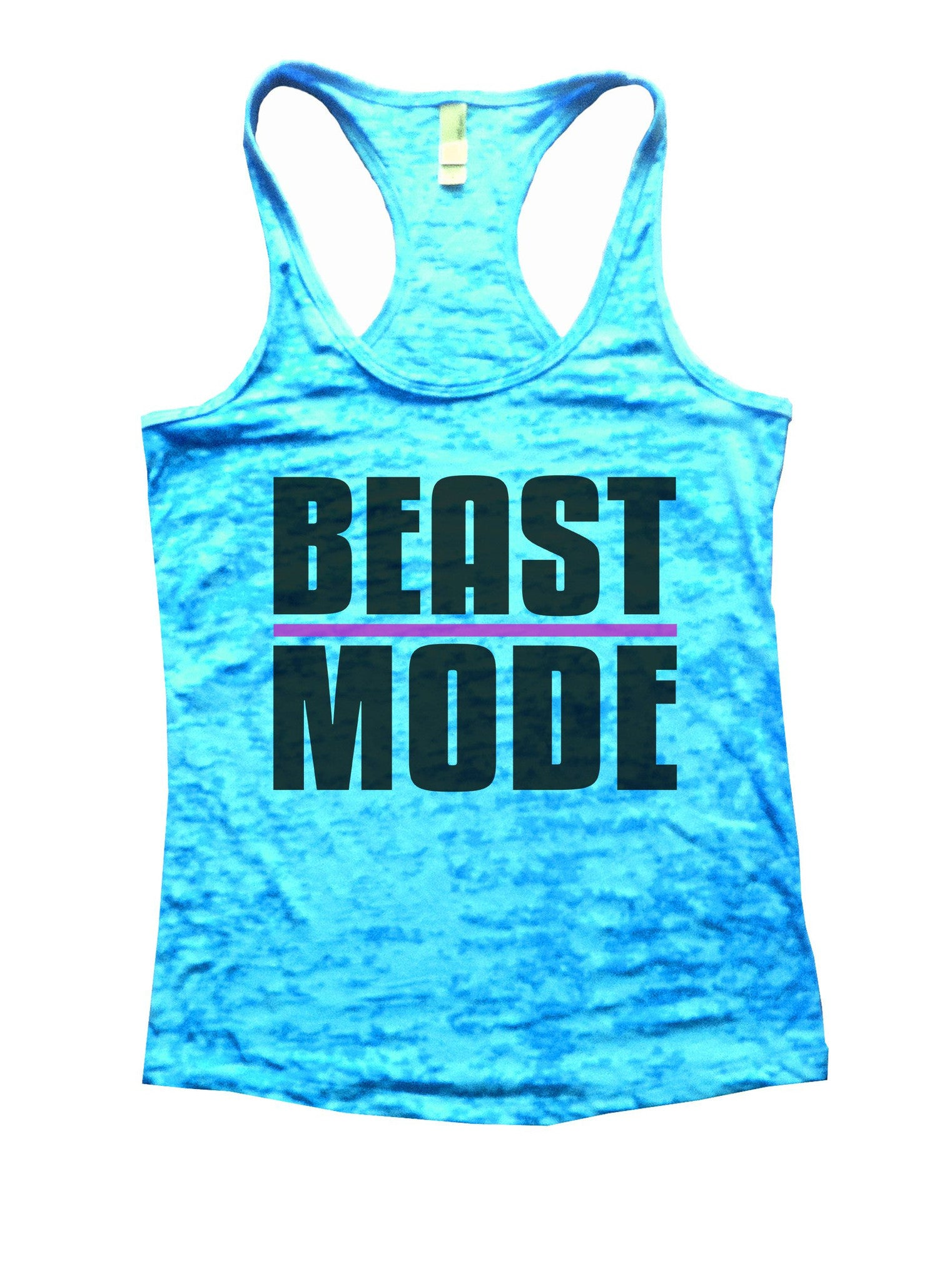 Beast Mode Burnout Tank Top By BurnoutTankTops.com - 1107 - Funny Shirts Tank Tops Burnouts and Triblends  - 5