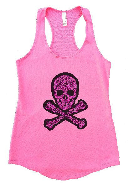 Skull Womens Workout Tank Top 1163 - Funny Shirts Tank Tops Burnouts and Triblends  - 2