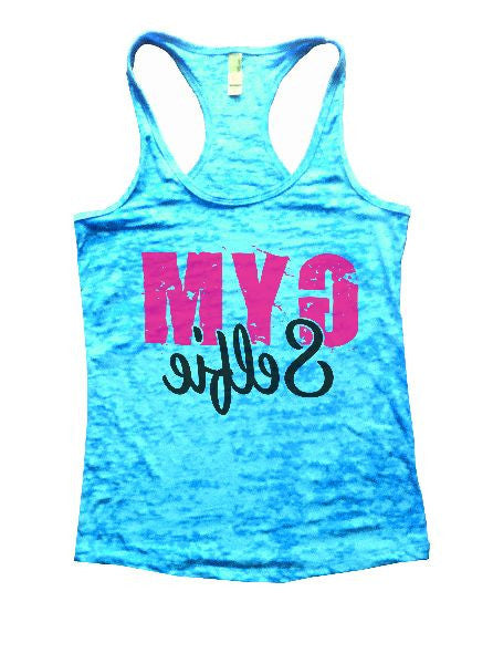 Gym Selfie Burnout Tank Top By BurnoutTankTops.com - 1249 - Funny Shirts Tank Tops Burnouts and Triblends  - 4