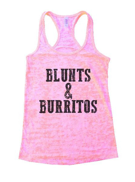 Blunts And Burritos Burnout Tank Top By BurnoutTankTops.com - 1279 - Funny Shirts Tank Tops Burnouts and Triblends  - 4
