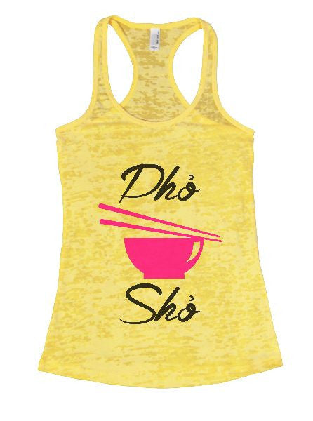 Dho Sho Burnout Tank Top By BurnoutTankTops.com - 1400 - Funny Shirts Tank Tops Burnouts and Triblends  - 3