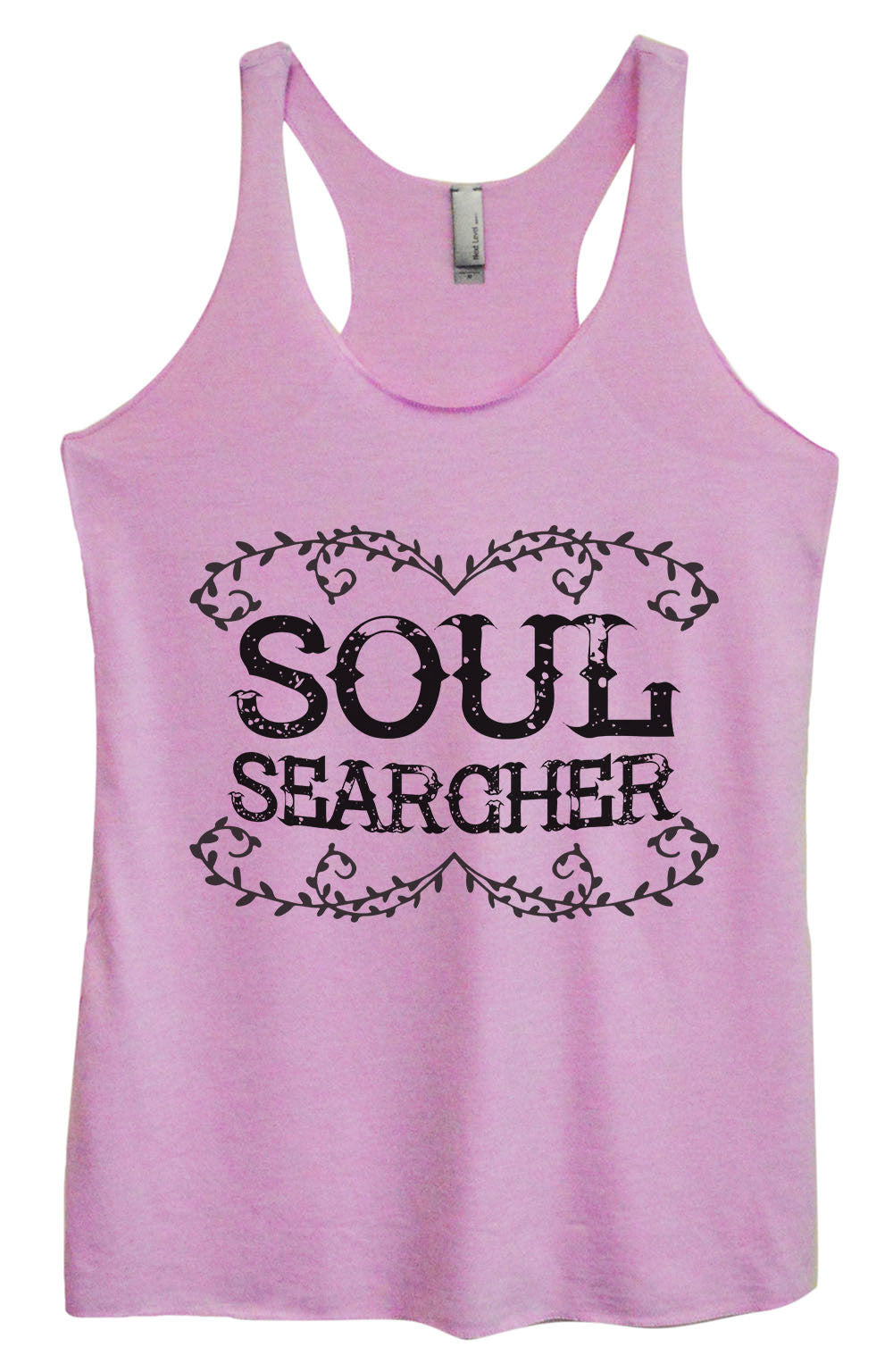Womens Fashion Triblend Tank Top - Soul Searcher - Tri-1558 - Funny Shirts Tank Tops Burnouts and Triblends  - 3