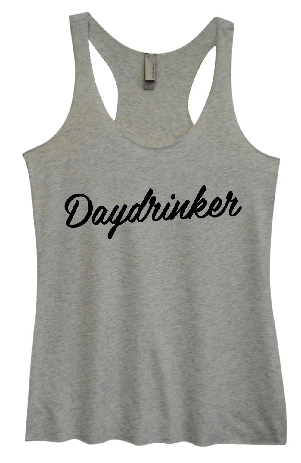 Womens Fashion Triblend Tank Top - Daydrinker - Tri-1569 - Funny Shirts Tank Tops Burnouts and Triblends  - 1