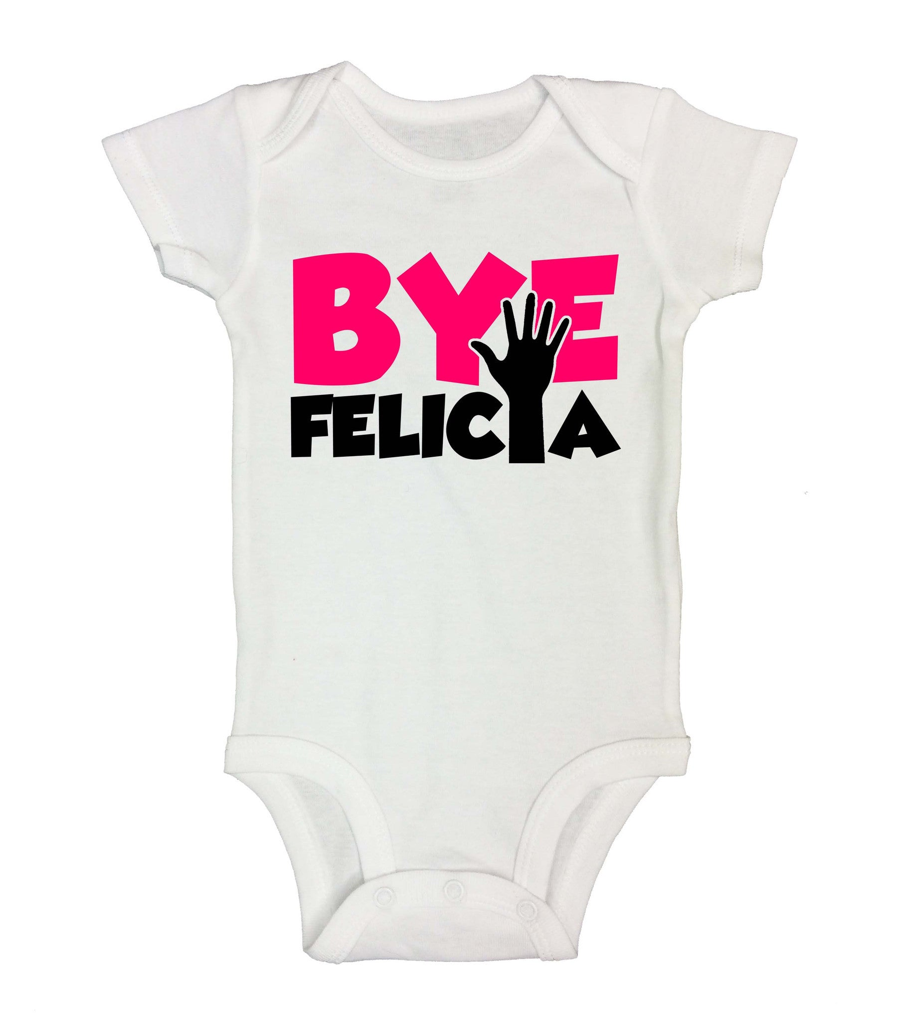 Bye Felica Funny Kids Onesie - 175 - Funny Shirts Tank Tops Burnouts and Triblends  - 2