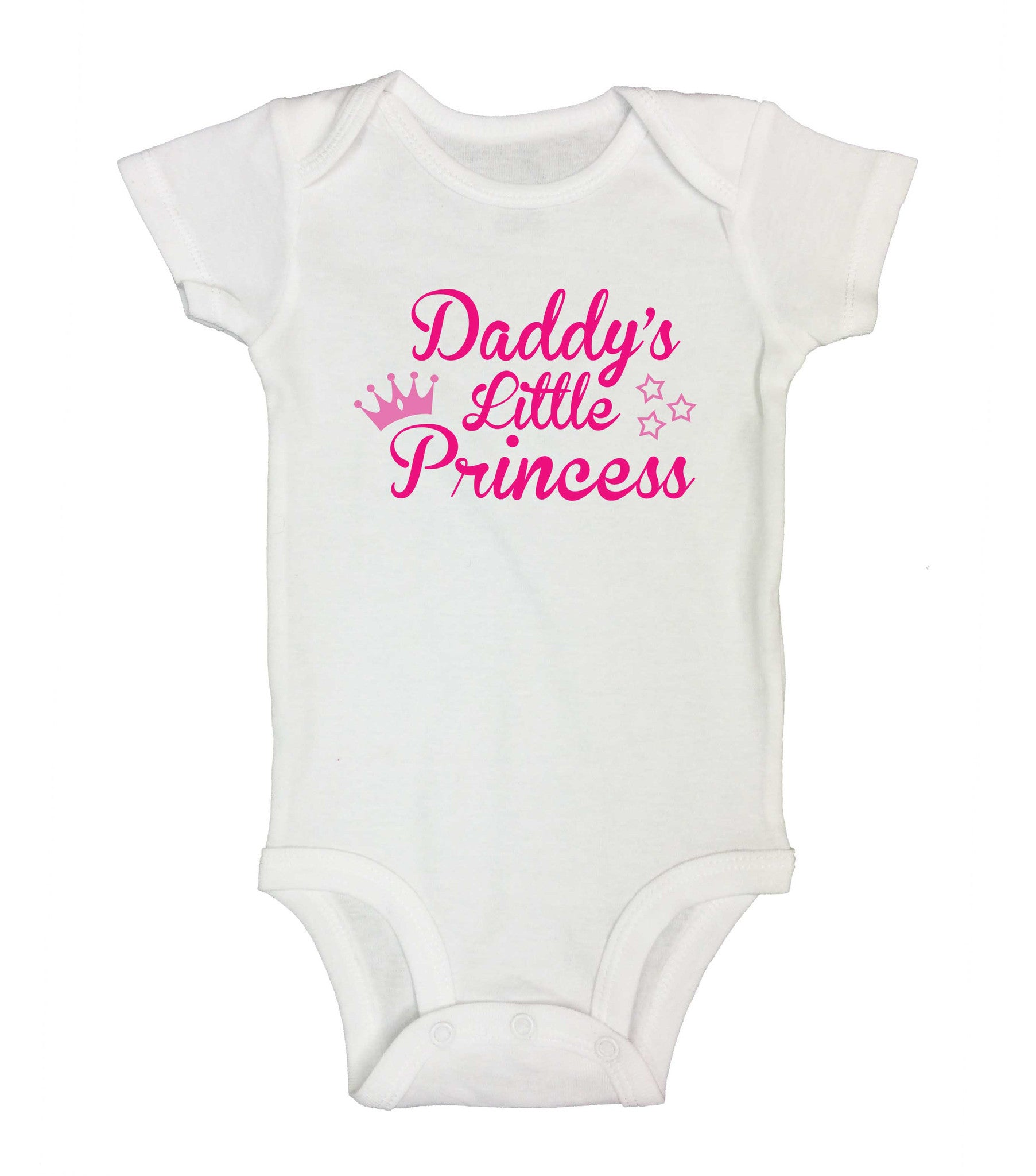 Daddy's Little Princess Funny Kids Onesie - 190 - Funny Shirts Tank Tops Burnouts and Triblends  - 2