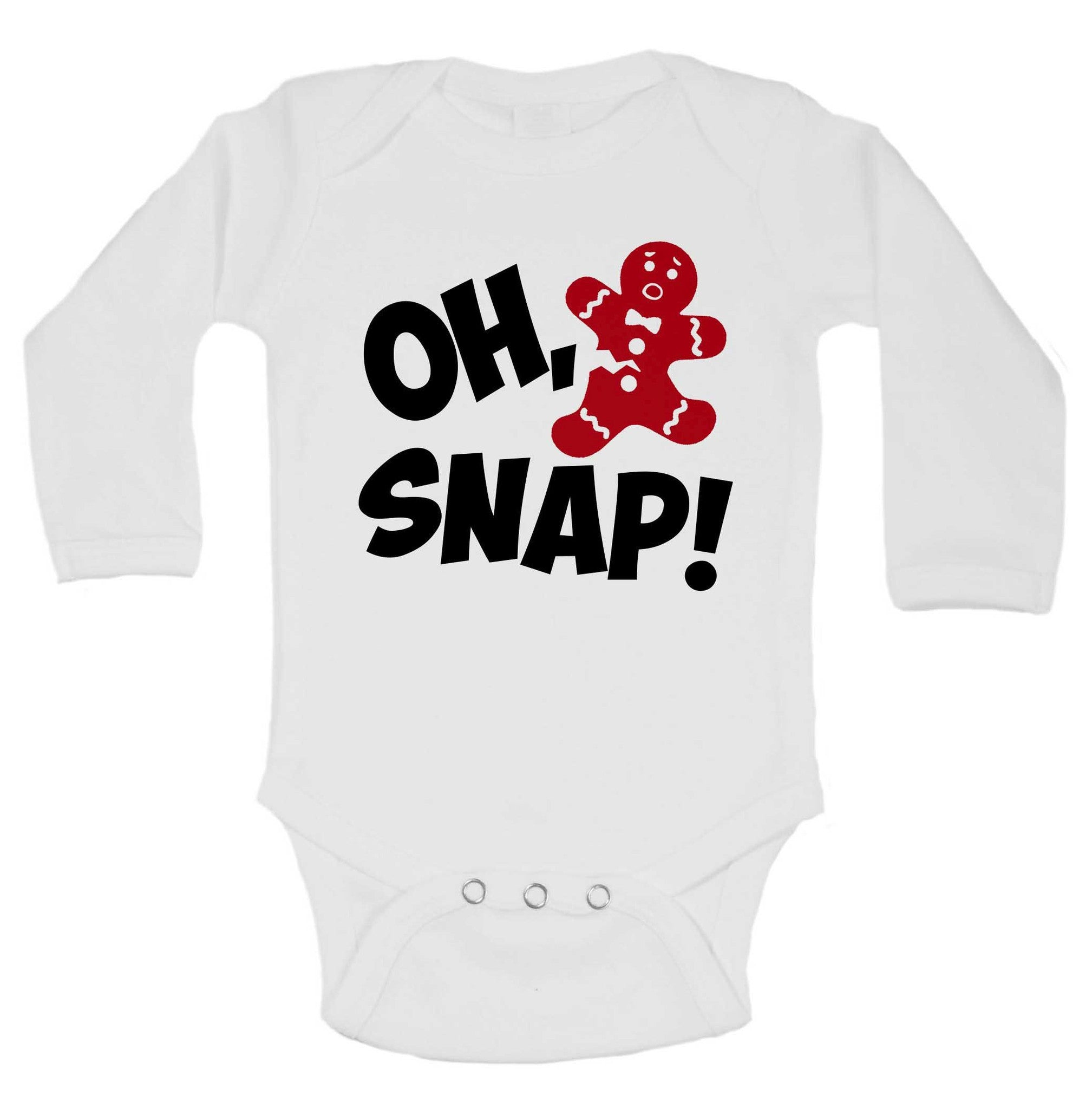 Oh, Snap Funny Kids Onesie - 231 - Funny Shirts Tank Tops Burnouts and Triblends  - 1