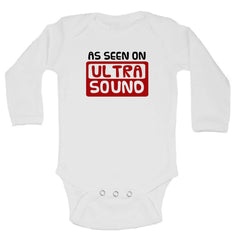 As Seen On Ultra Sound Funny Kids Onesie - 238 - Funny Shirts Tank Tops Burnouts and Triblends  - 1