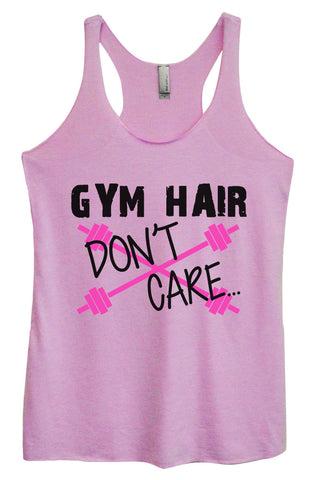 Womens Fashion Triblend Tank Top - I Workout To Burn Off The Crazy - Tri-1453