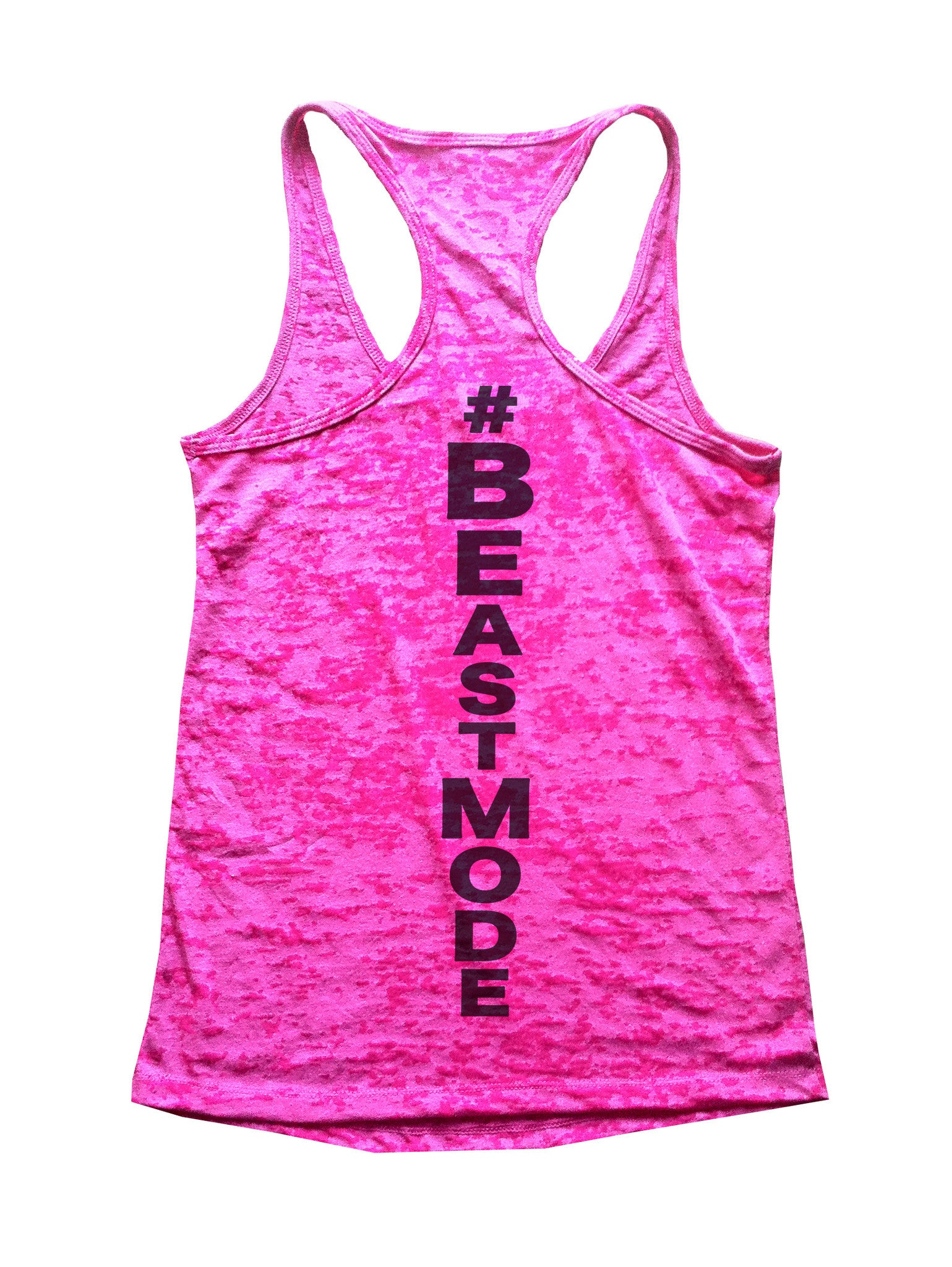 Beast Mode Burnout Tank Top By BurnoutTankTops.com - 526 - Funny Shirts Tank Tops Burnouts and Triblends  - 1