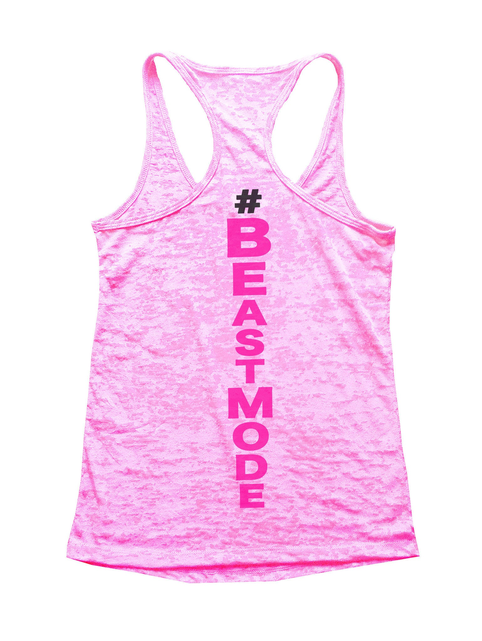 Beast Mode Burnout Tank Top By BurnoutTankTops.com - 526 - Funny Shirts Tank Tops Burnouts and Triblends  - 2