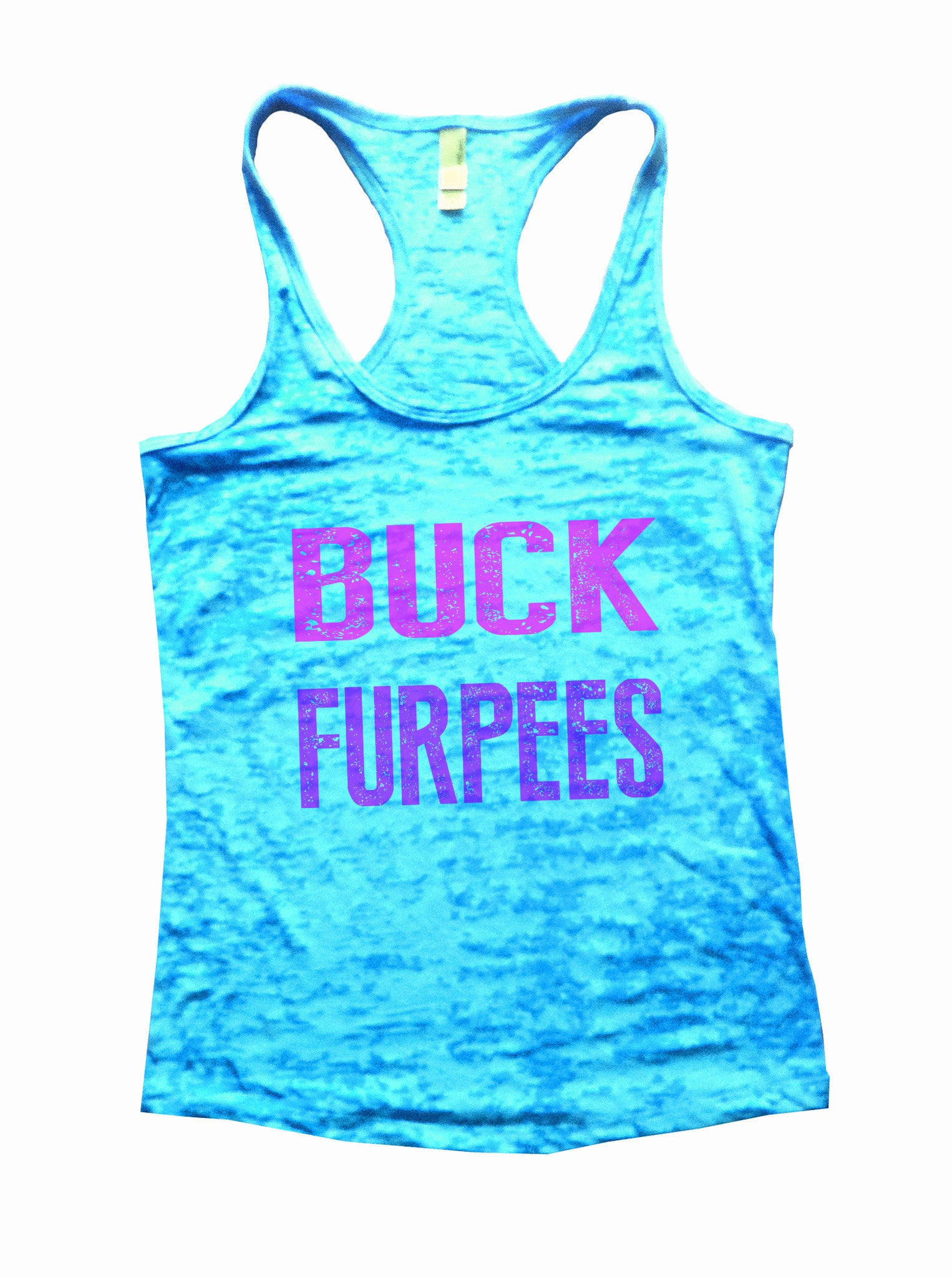 Buck Furpees Burnout Tank Top By BurnoutTankTops.com - 562 - Funny Shirts Tank Tops Burnouts and Triblends  - 1