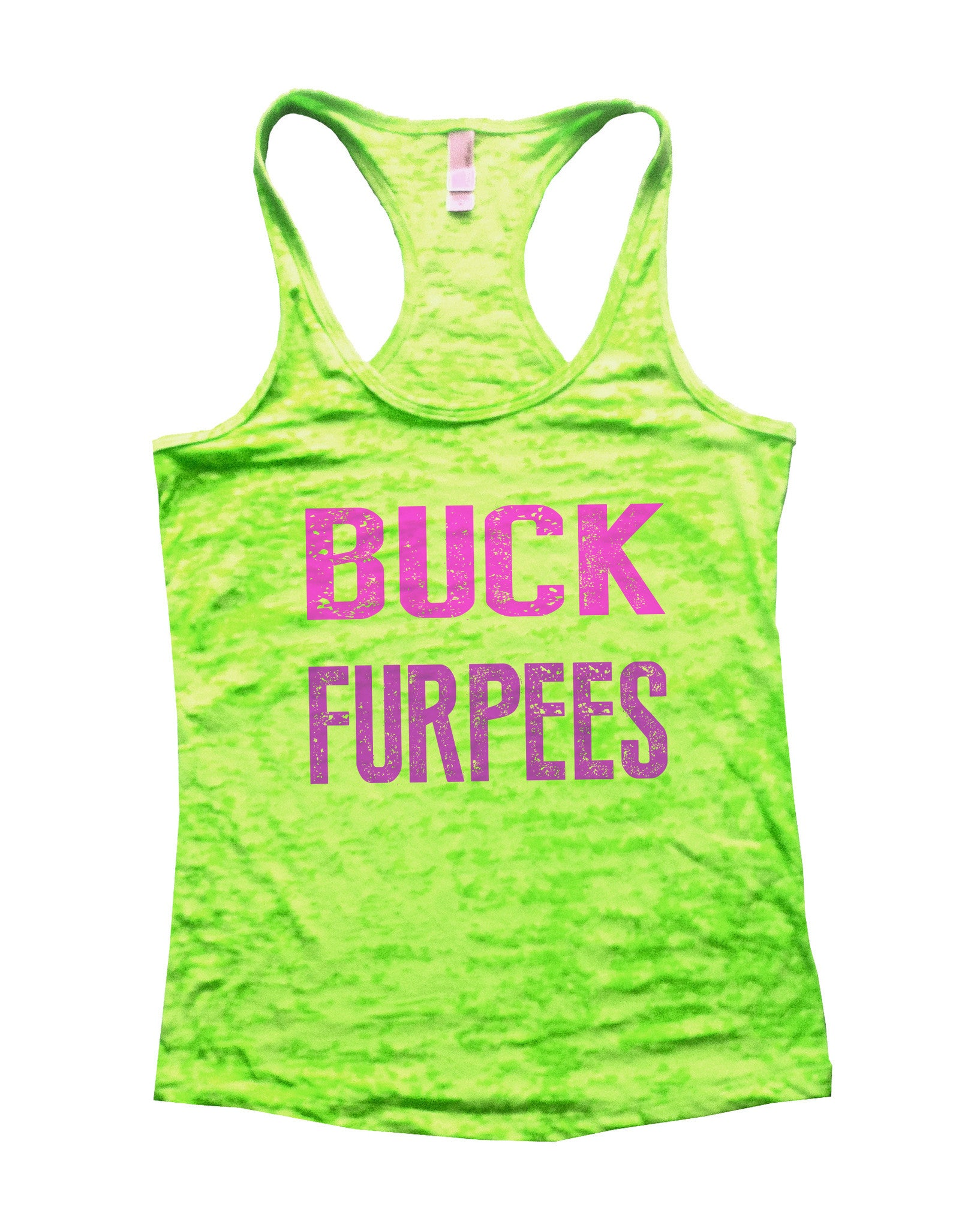 Buck Furpees Burnout Tank Top By BurnoutTankTops.com - 562 - Funny Shirts Tank Tops Burnouts and Triblends  - 3