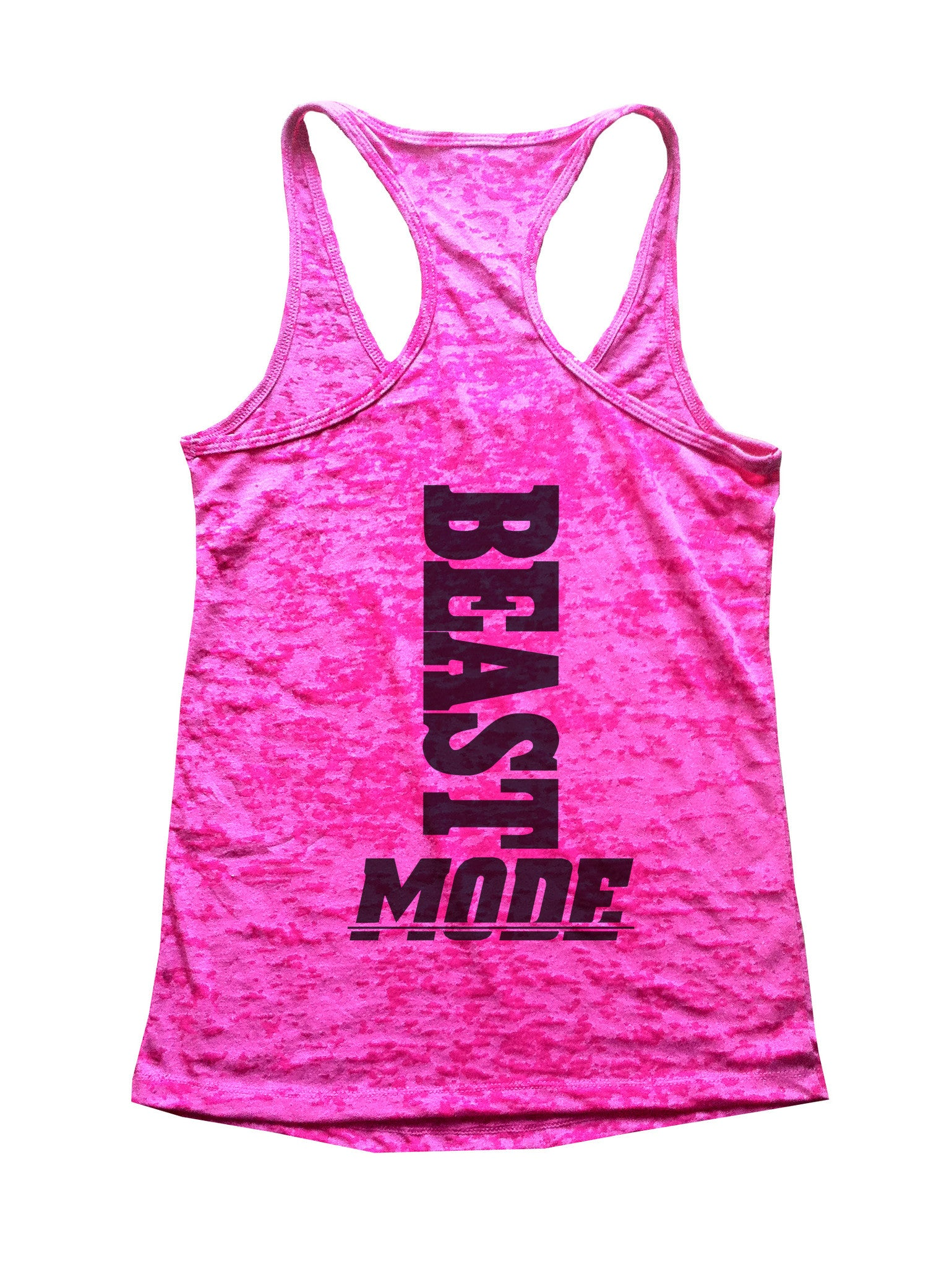 Beast Mode Burnout Tank Top By BurnoutTankTops.com - 595 - Funny Shirts Tank Tops Burnouts and Triblends  - 3