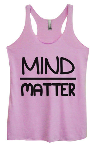 Womens Fashion Triblend Tank Top - Gym Hair Don't Care - Tri-511