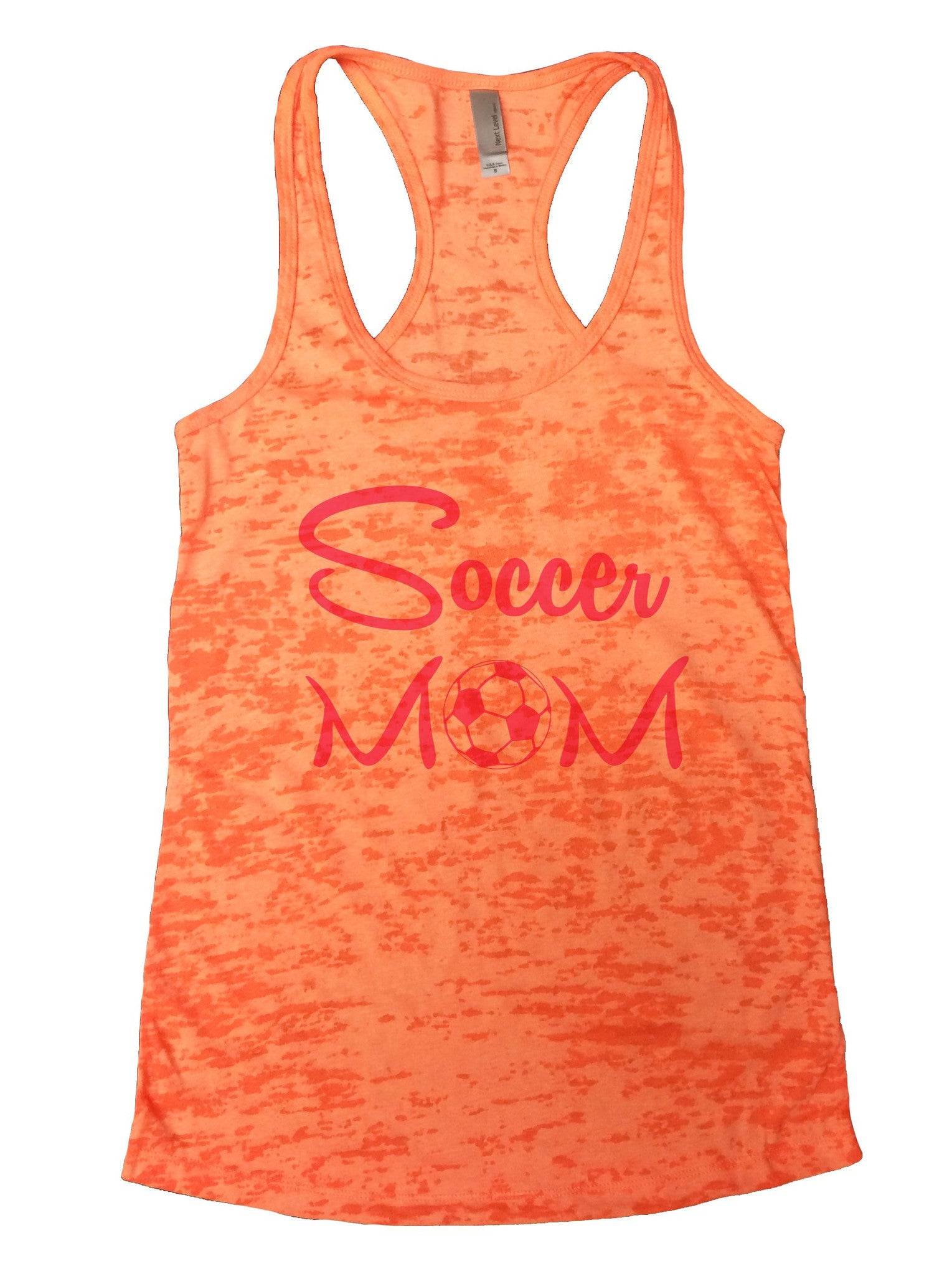 Soccer Mom Burnout Tank Top By BurnoutTankTops.com - 658 - Funny Shirts Tank Tops Burnouts and Triblends  - 3