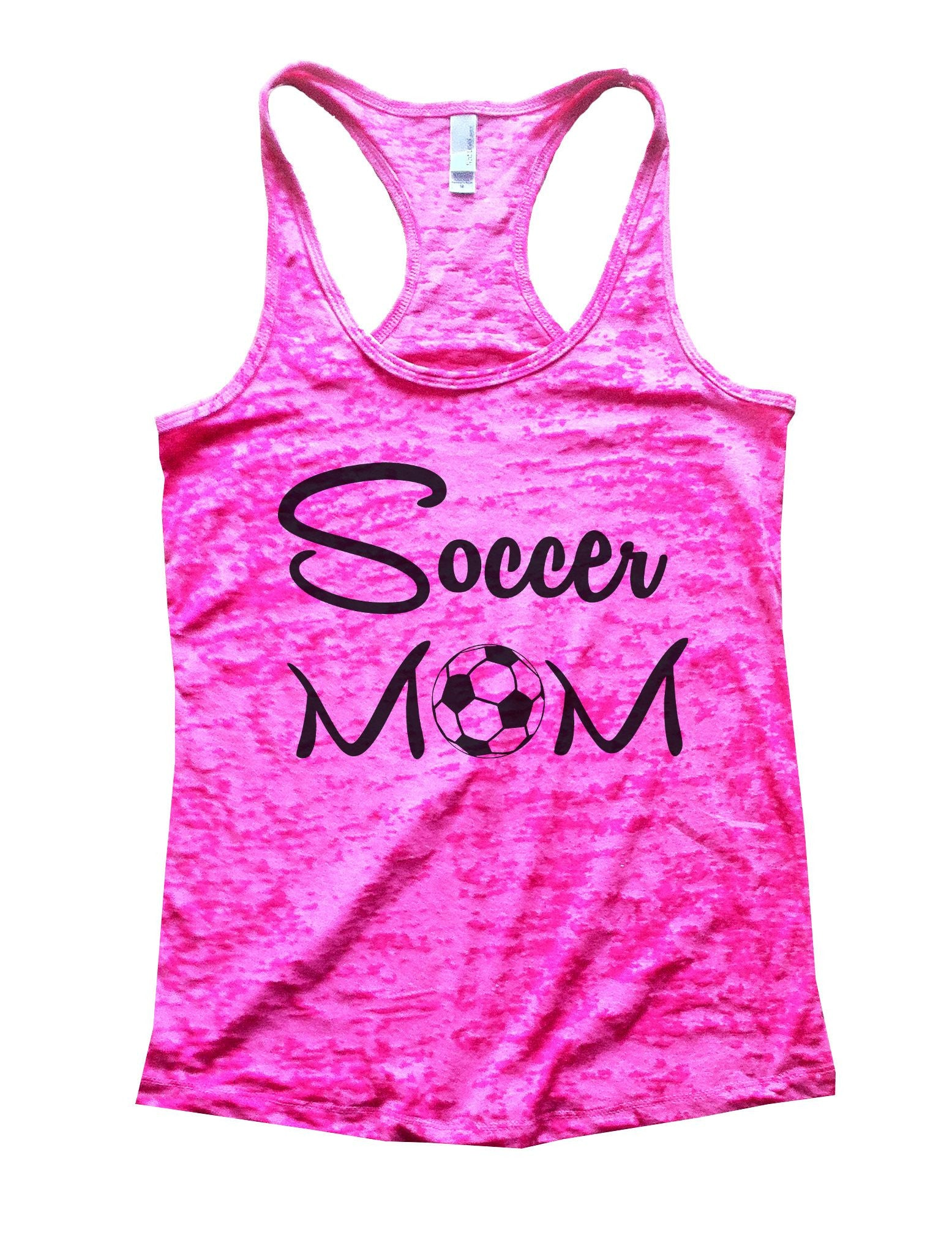 Soccer Mom Burnout Tank Top By BurnoutTankTops.com - 658 - Funny Shirts Tank Tops Burnouts and Triblends  - 5