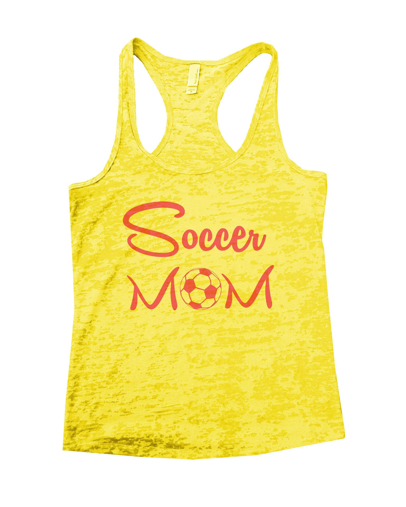 Soccer Mom Burnout Tank Top By BurnoutTankTops.com - 658 - Funny Shirts Tank Tops Burnouts and Triblends  - 7