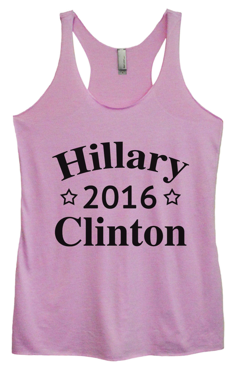 Womens Fashion Triblend Tank Top - Hillary 2016 Clinton - Tri-669 - Funny Shirts Tank Tops Burnouts and Triblends  - 4