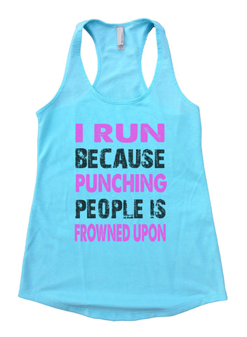 Yeah, No Don't Put Me Down For Cardio Womens Workout Tank Top 1153