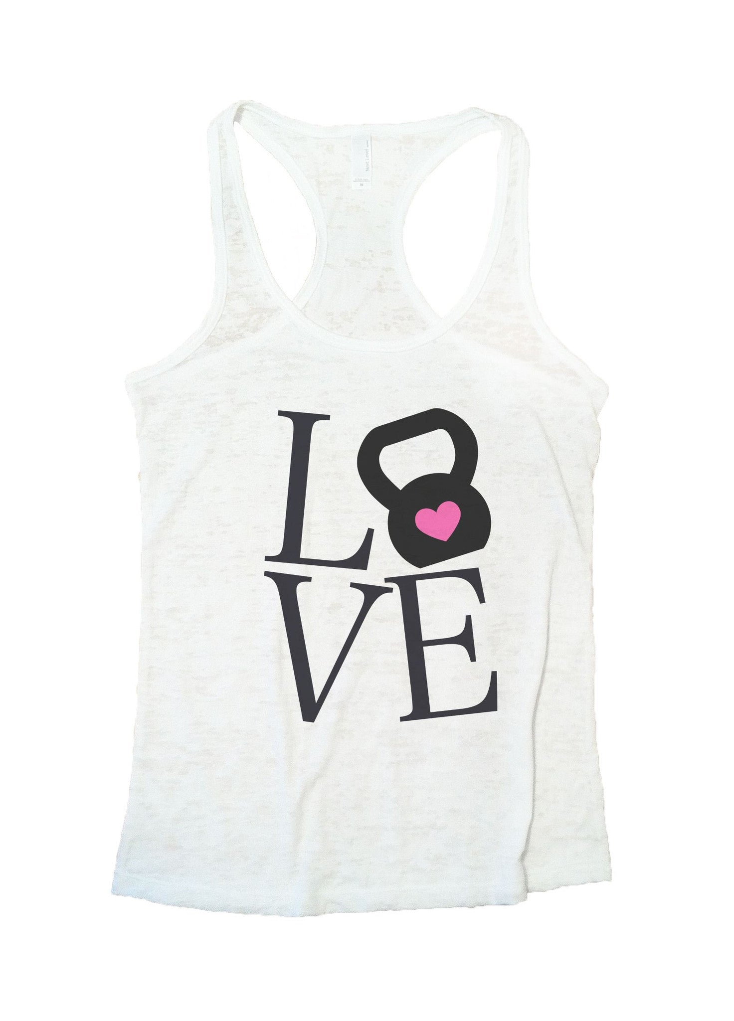 Love Burnout Tank Top By BurnoutTankTops.com - 727 - Funny Shirts Tank Tops Burnouts and Triblends  - 5