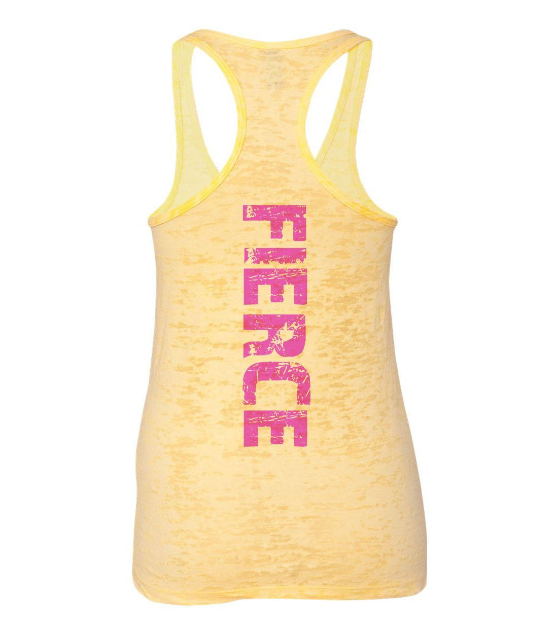 Fierce Burnout Tank Top By BurnoutTankTops.com - 775 - Funny Shirts Tank Tops Burnouts and Triblends  - 4