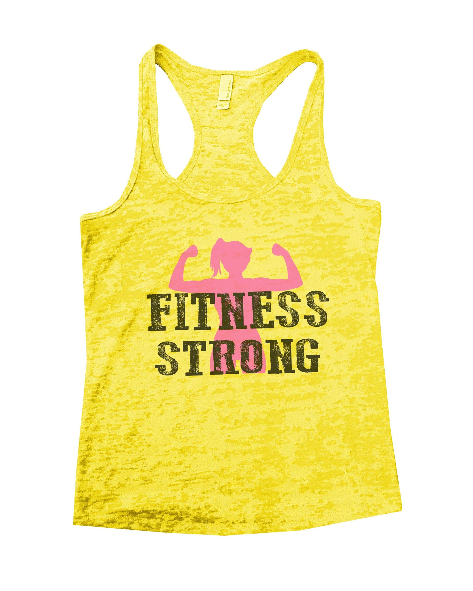 Fitness Strong Burnout Tank Top By BurnoutTankTops.com - 782 - Funny Shirts Tank Tops Burnouts and Triblends  - 6