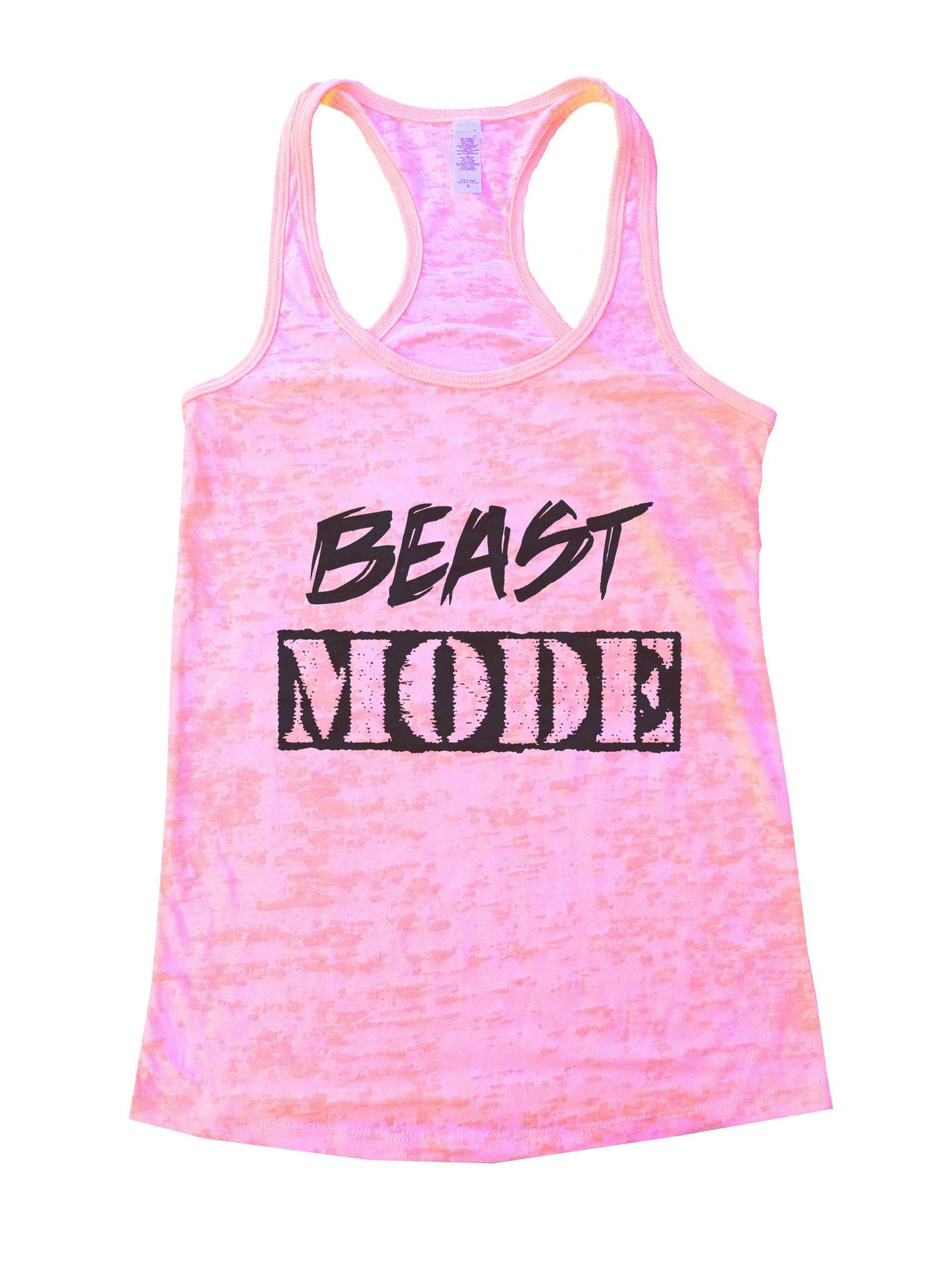 Beast Mode Burnout Tank Top By BurnoutTankTops.com - 823 - Funny Shirts Tank Tops Burnouts and Triblends  - 1