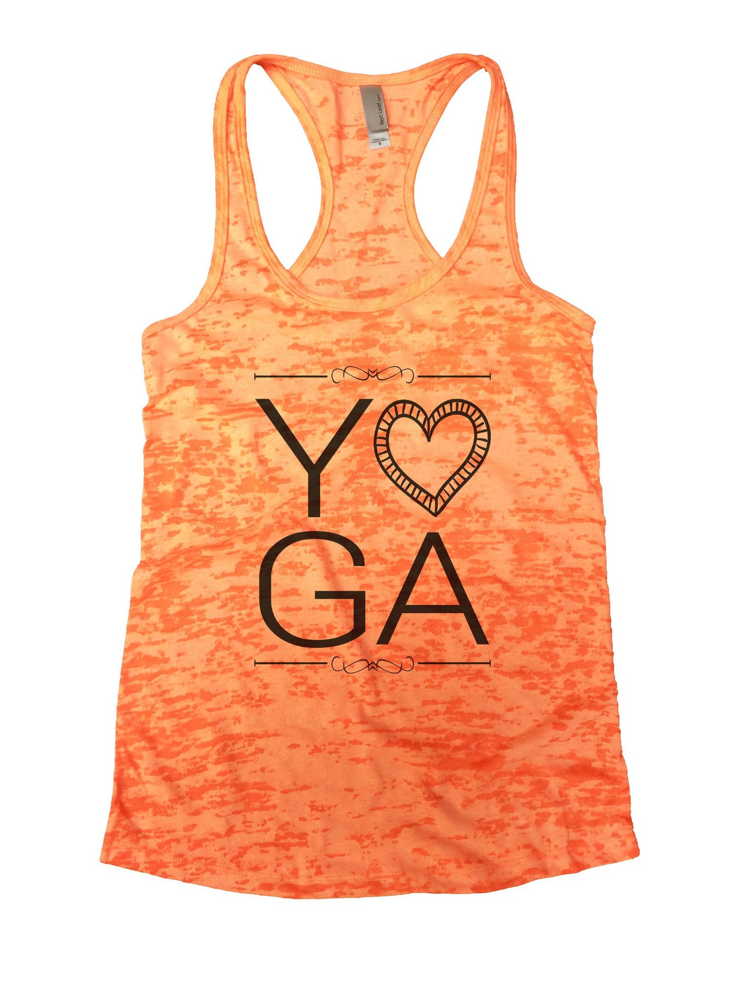 Yoga Burnout Tank Top By BurnoutTankTops.com - 838 - Funny Shirts Tank Tops Burnouts and Triblends  - 3