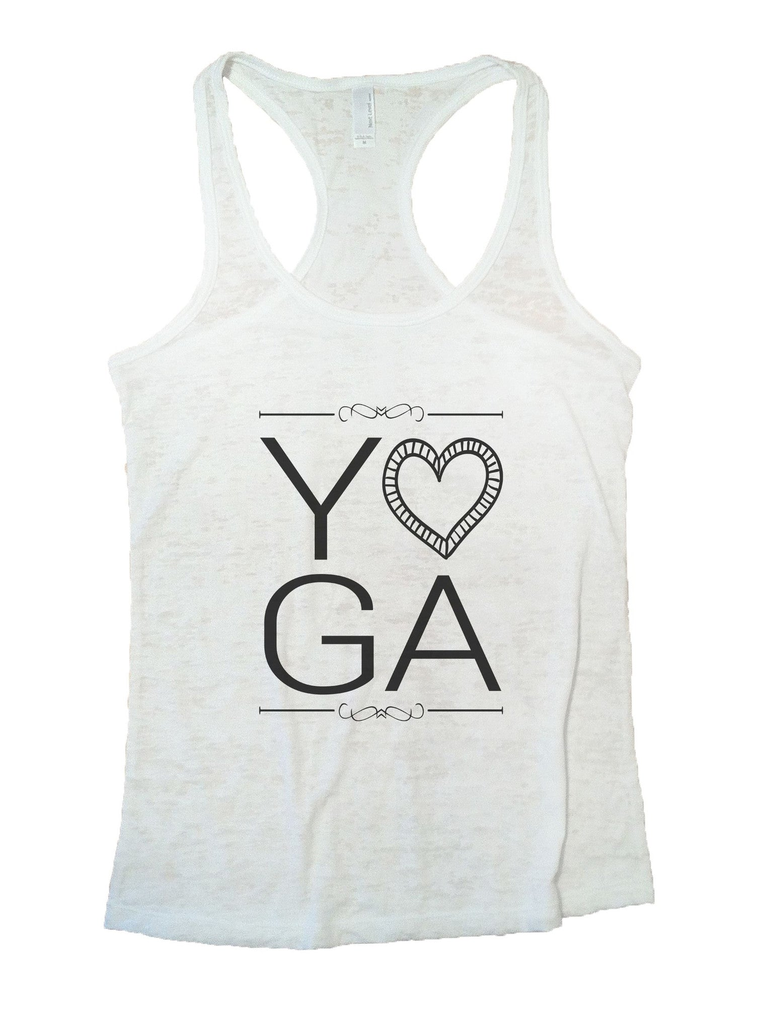 Yoga Burnout Tank Top By BurnoutTankTops.com - 838 - Funny Shirts Tank Tops Burnouts and Triblends  - 6