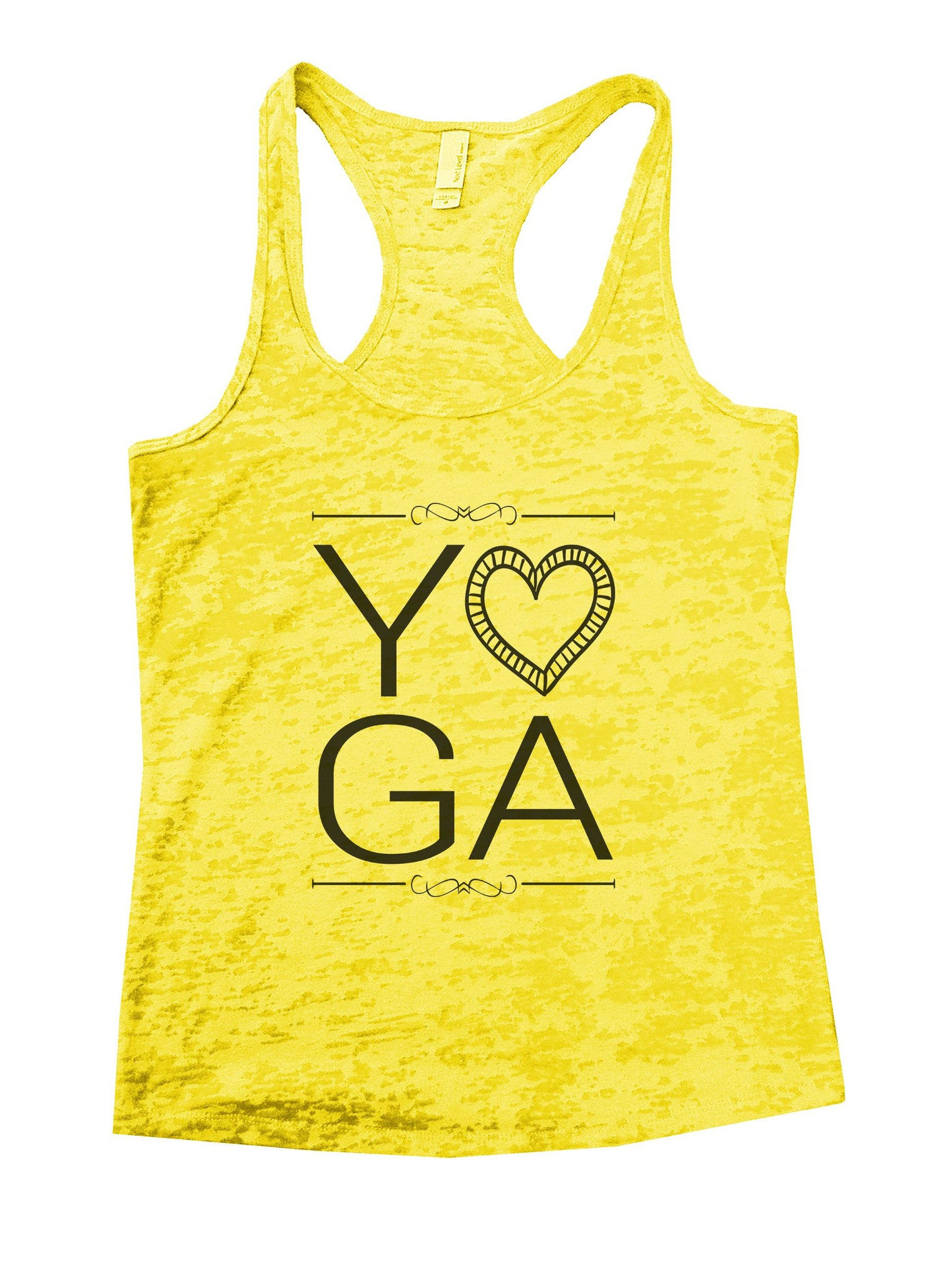 Yoga Burnout Tank Top By BurnoutTankTops.com - 838 - Funny Shirts Tank Tops Burnouts and Triblends  - 7