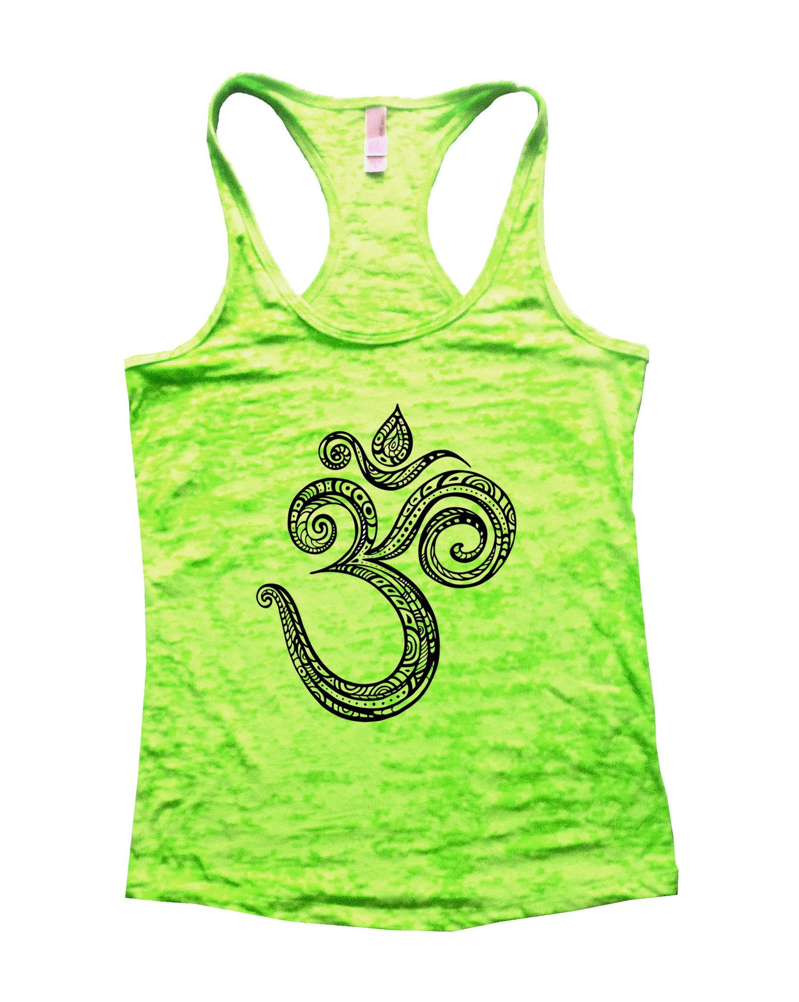 Ohm Burnout Tank Top By BurnoutTankTops.com - 908 - Funny Shirts Tank Tops Burnouts and Triblends  - 3