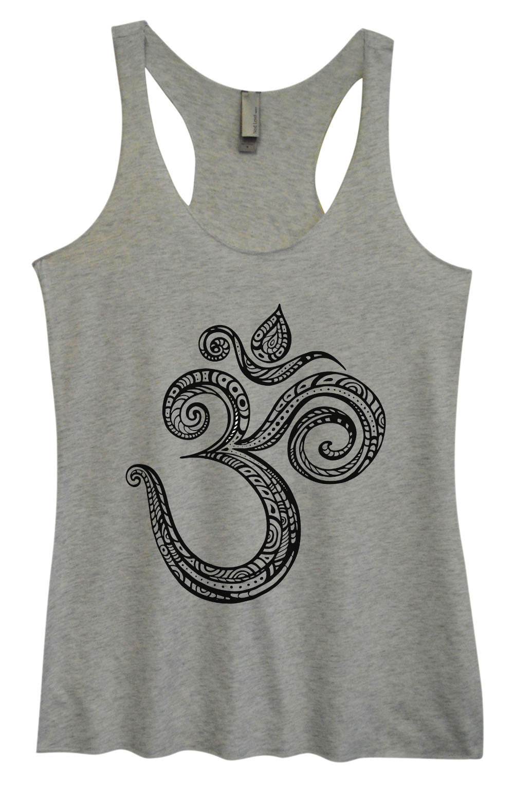 Womens Fashion Triblend Tank Top - OM - Tri-908 - Funny Shirts Tank Tops Burnouts and Triblends  - 2