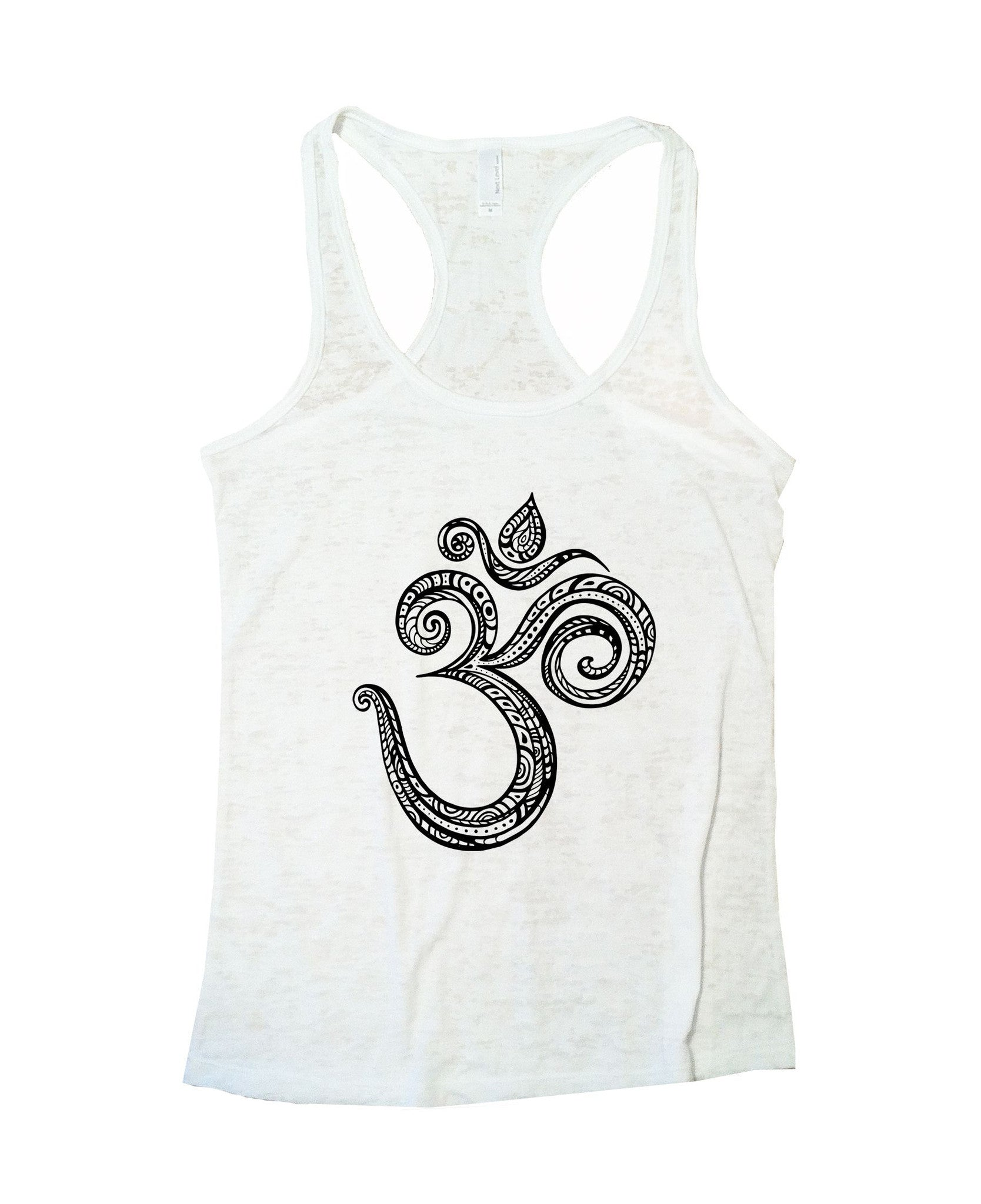 Ohm Burnout Tank Top By BurnoutTankTops.com - 908 - Funny Shirts Tank Tops Burnouts and Triblends  - 6