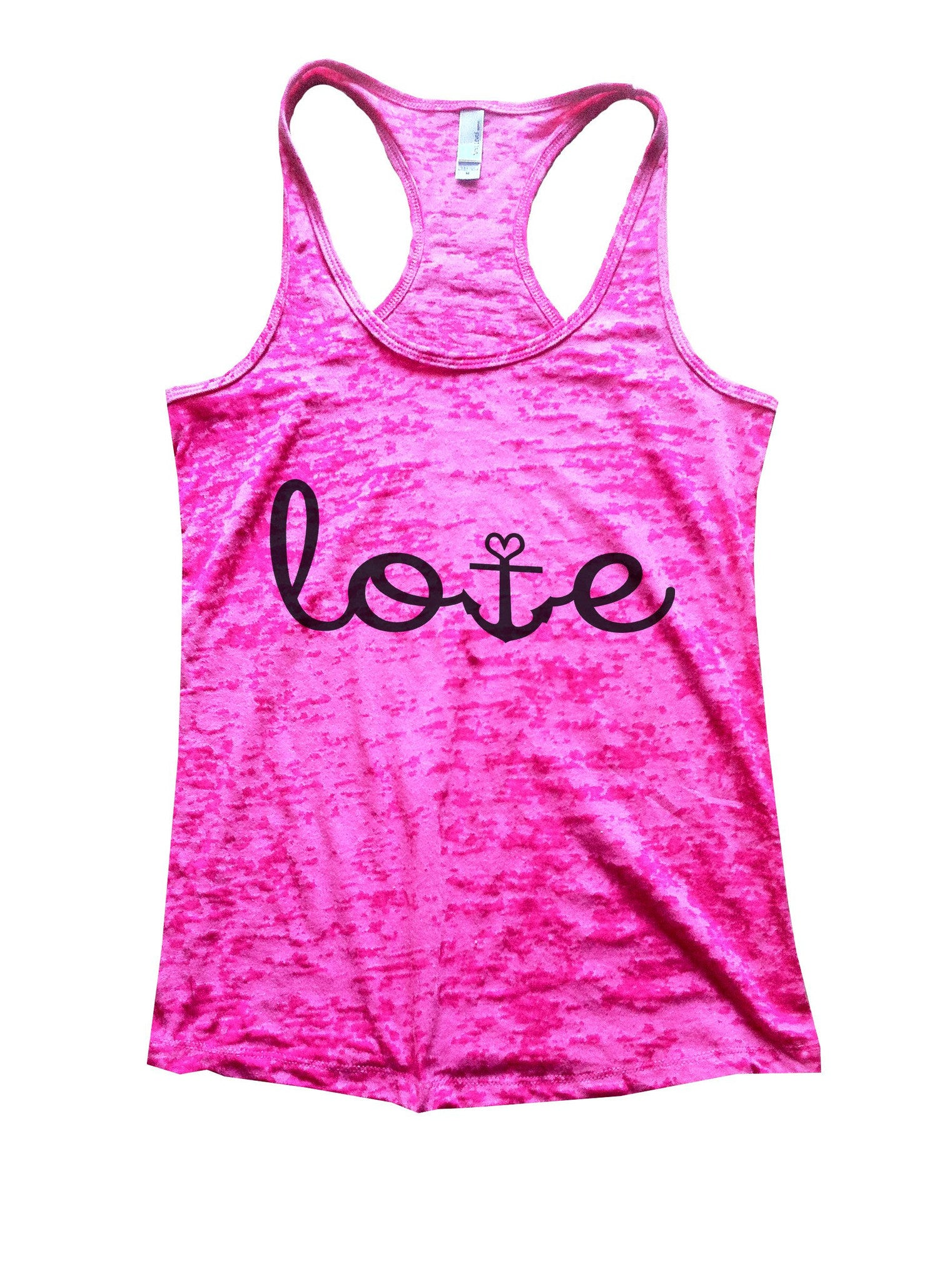 Love Burnout Tank Top By BurnoutTankTops.com - 935 - Funny Shirts Tank Tops Burnouts and Triblends  - 7