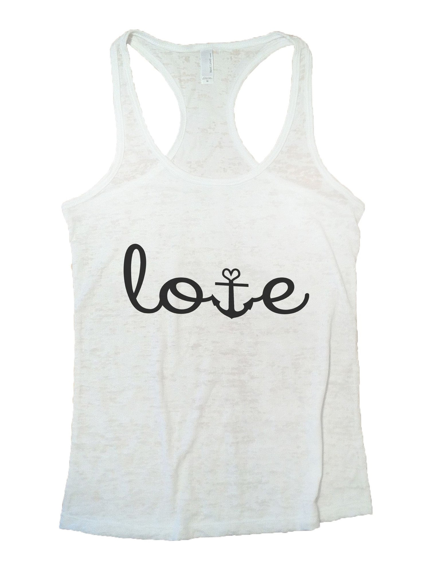 Love Burnout Tank Top By BurnoutTankTops.com - 935 - Funny Shirts Tank Tops Burnouts and Triblends  - 2