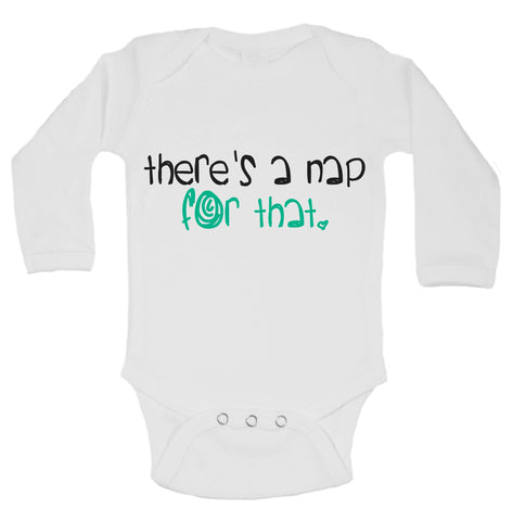 There's A Nap For That Funny Kids Onesie - B144 - Funny Shirts Tank Tops Burnouts and Triblends  - 1