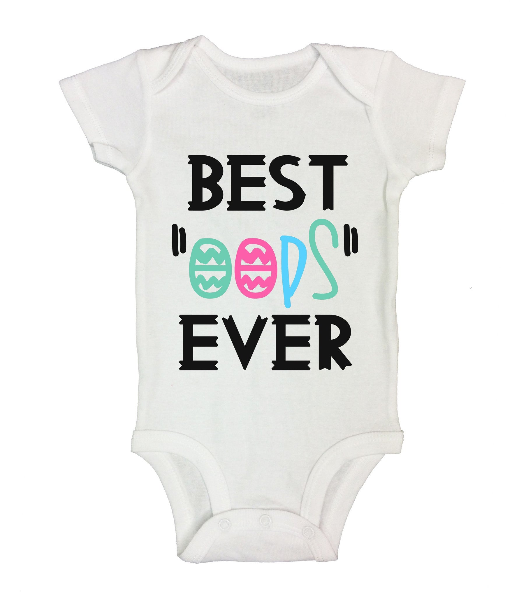 "Best ""Oops"" Ever Funny Kids Onesie - B200 - Funny Shirts Tank Tops Burnouts and Triblends  - 2"
