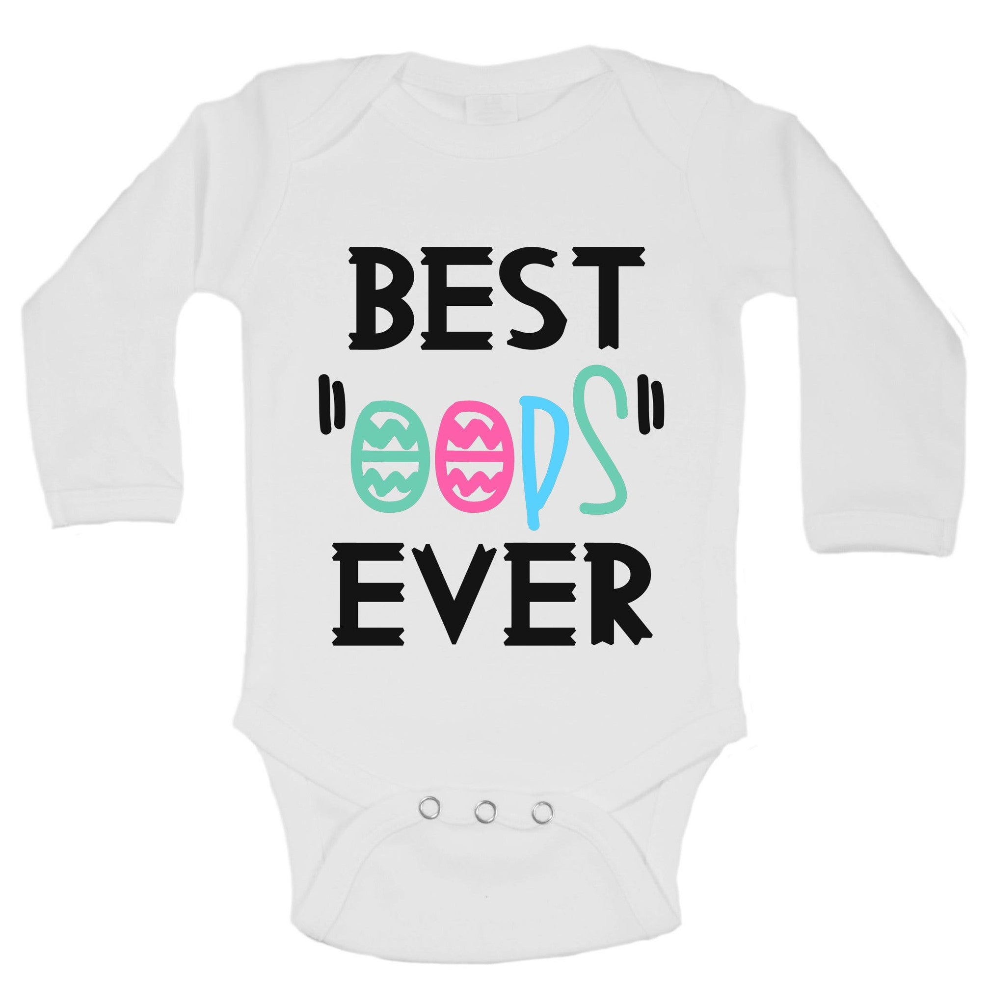"Best ""Oops"" Ever Funny Kids Onesie - B200 - Funny Shirts Tank Tops Burnouts and Triblends  - 1"