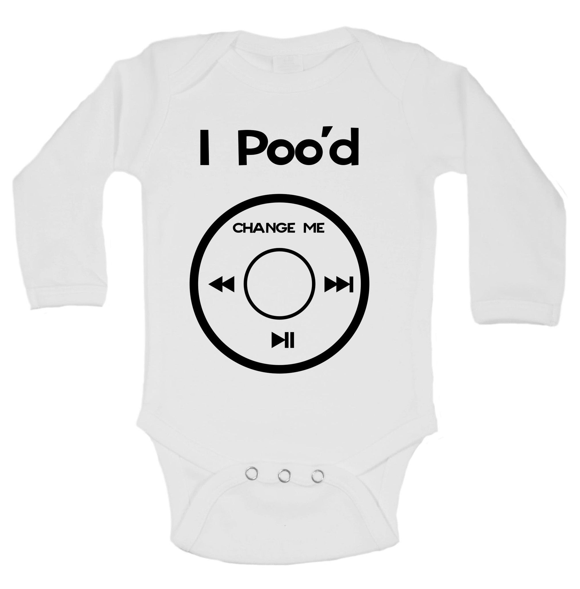 I Poo'd Change Me Funny Kids Onesie - B41 - Funny Shirts Tank Tops Burnouts and Triblends  - 1