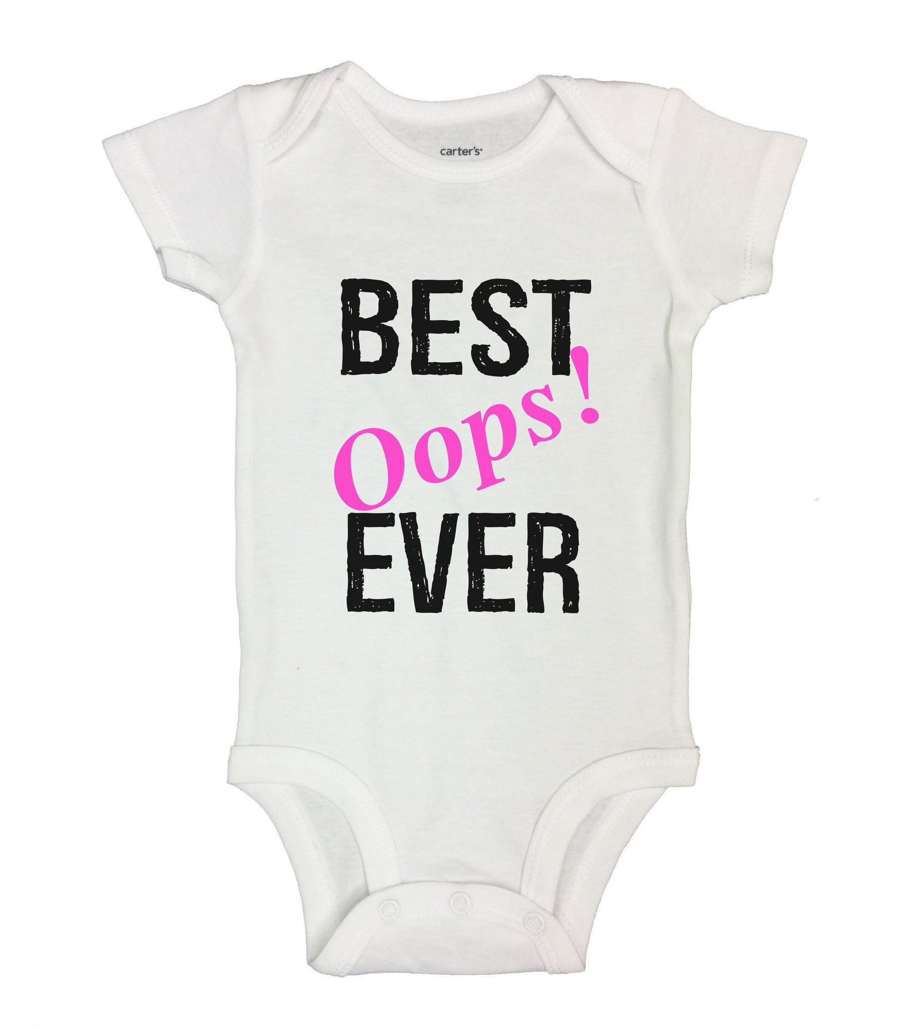 Best Oops! Ever Funny Kids Onesie - BO1 - Funny Shirts Tank Tops Burnouts and Triblends